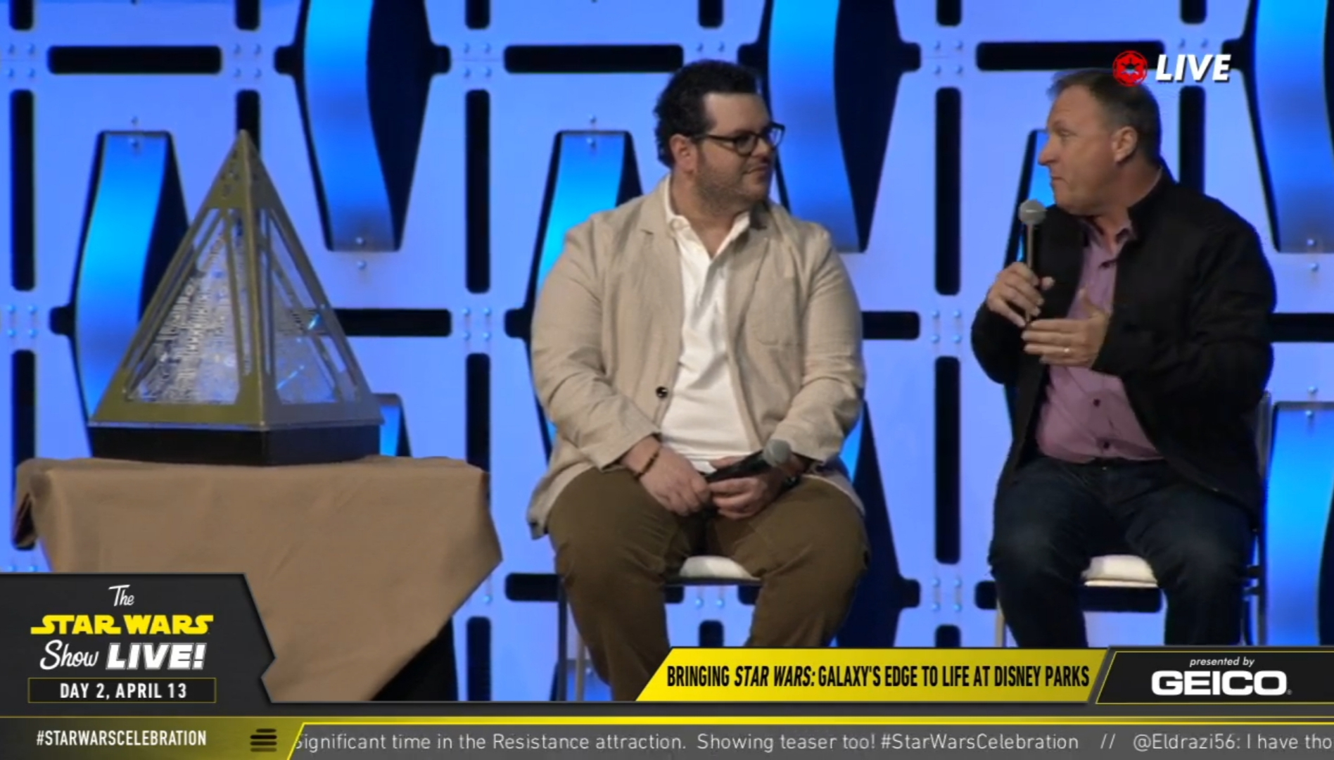 Galaxy's Edge: Star Wars Celebration Chicago Panel Highlights | Anakin and His Angel