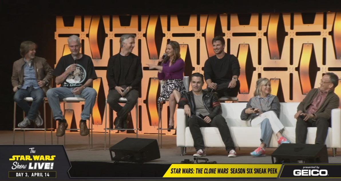 The Clone Wars Season 7 - Trailer & Star Wars Celebration Chicago Panel Highlights | Anakin and His Angel