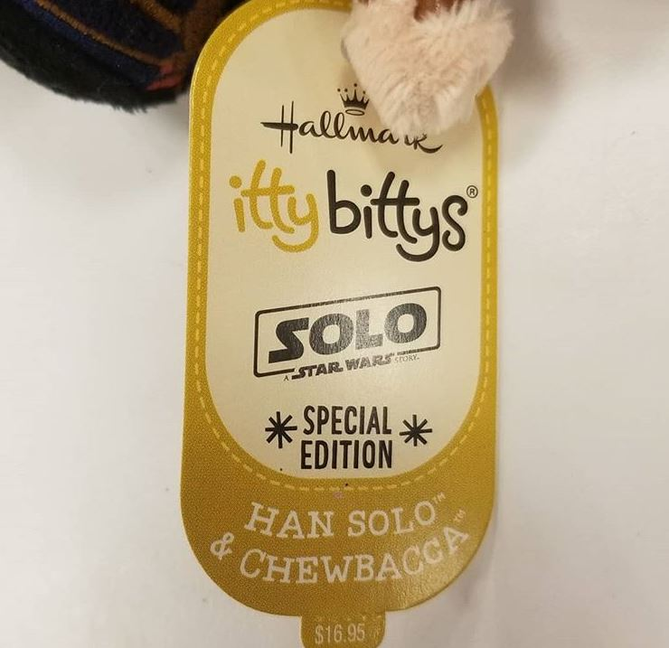 Solo & Lando Itty Bittys | Anakin And His Angel