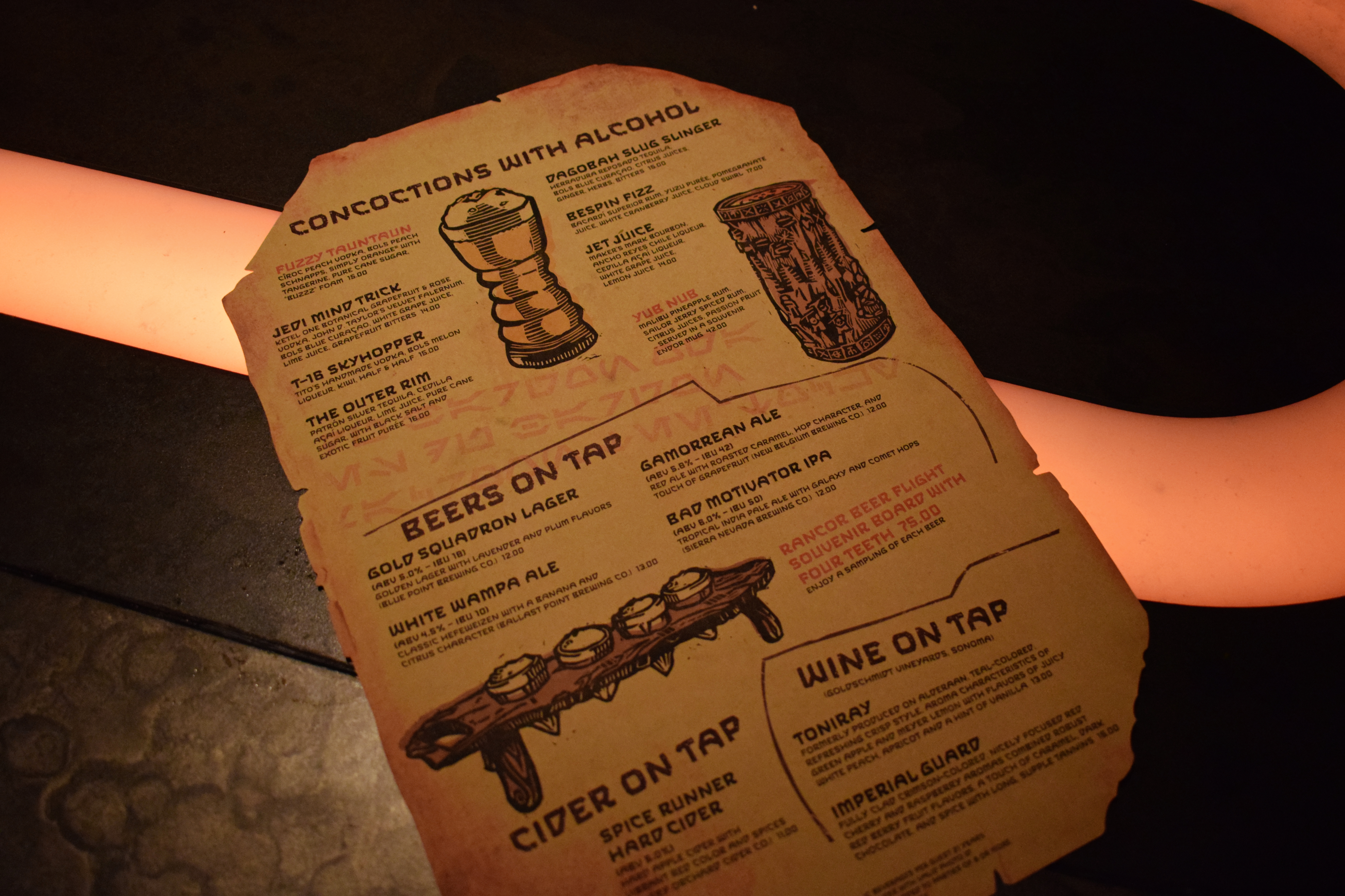Star Wars: Galaxy's Edge - Oga's Cantina Review | Anakin and His Angel
