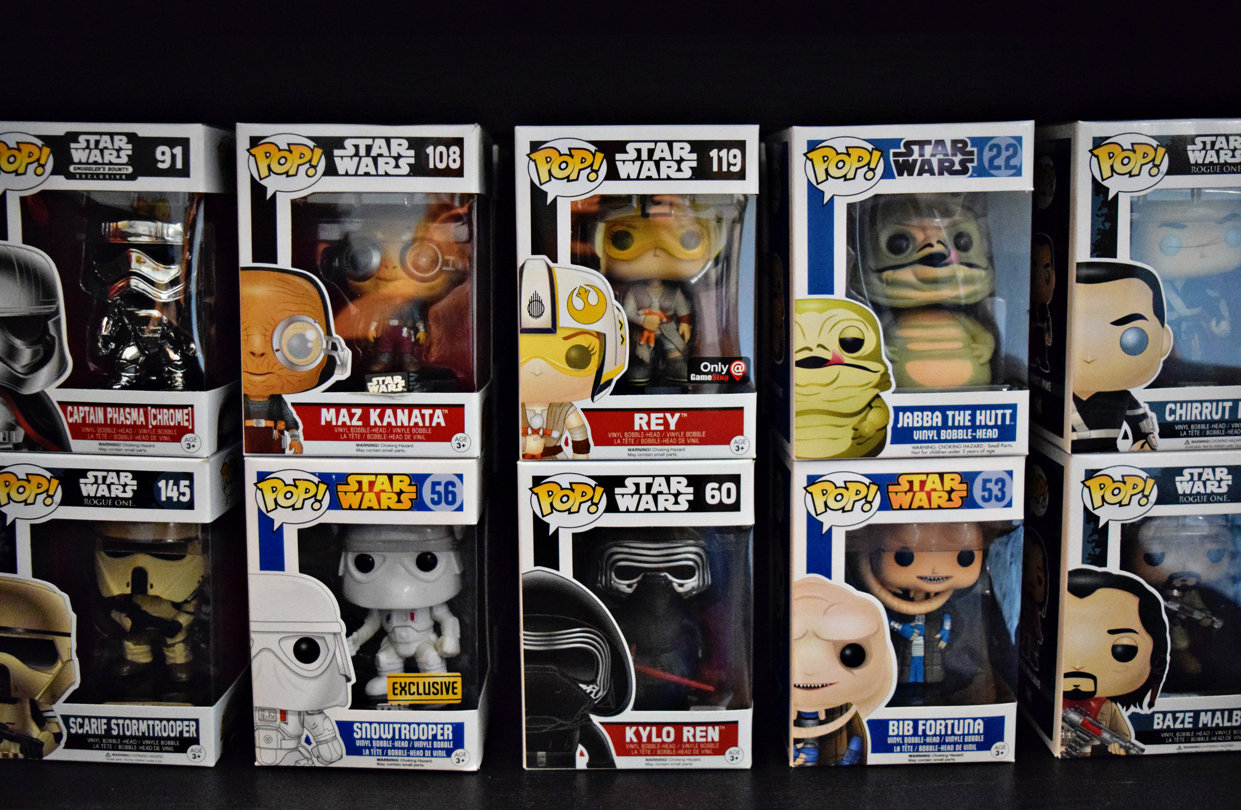 Funko Pops: In Box Collector vs. Out of Box Collector | Anakin and His Angel