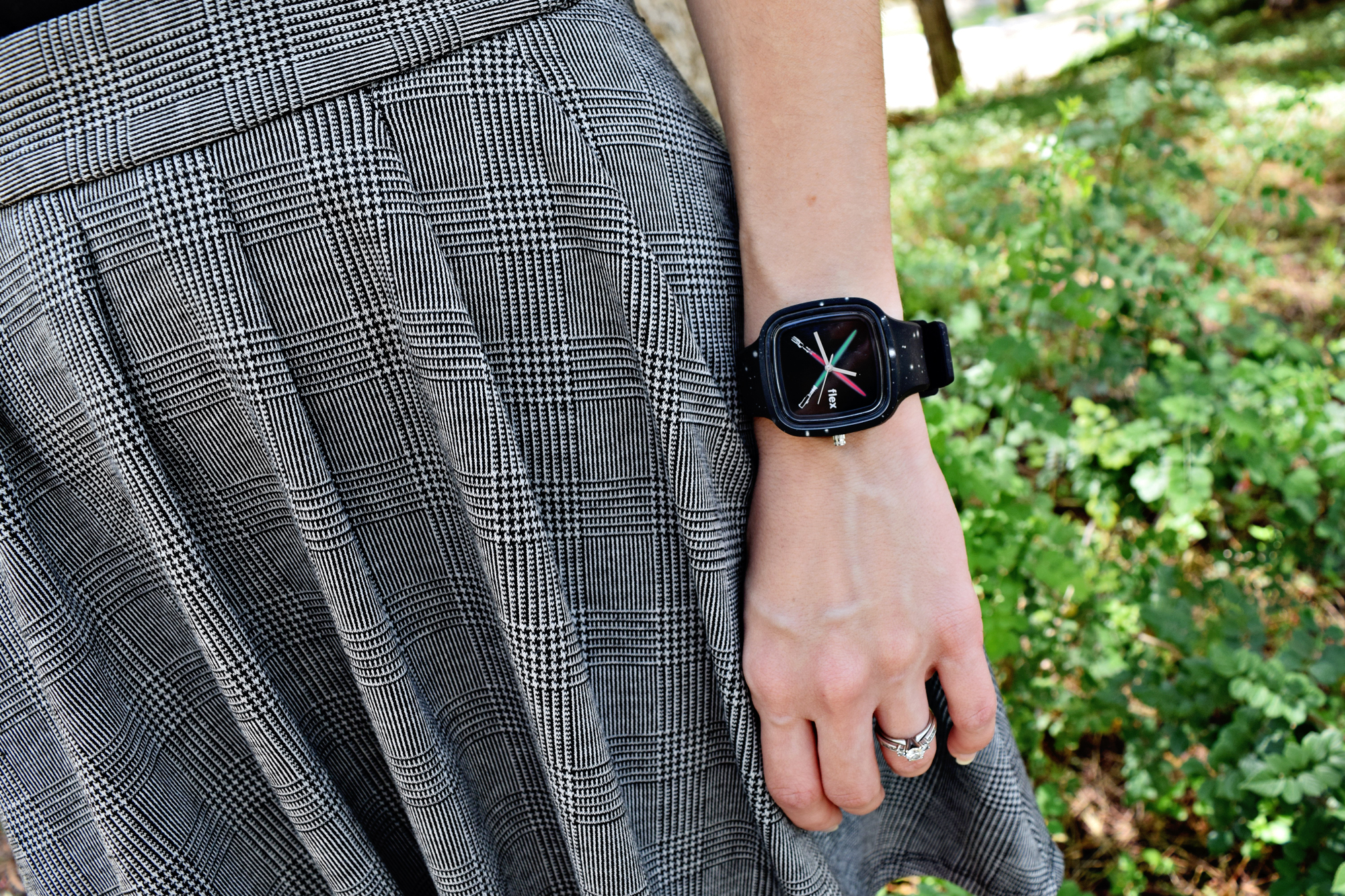 Star Wars OOTD: The Force Flex Watch | Anakin and His Angel