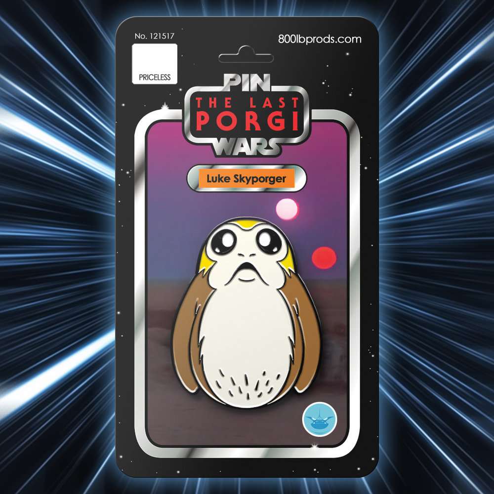 Porg Christmas Guide | Anakin and His Angel