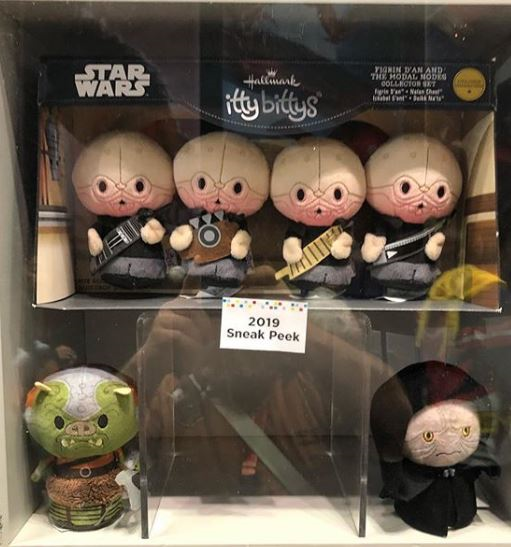Star Wars 2019 Itty Bittys - Luke in Landspeeder, Gamorrean Guard and More! | Anakin and His Angel