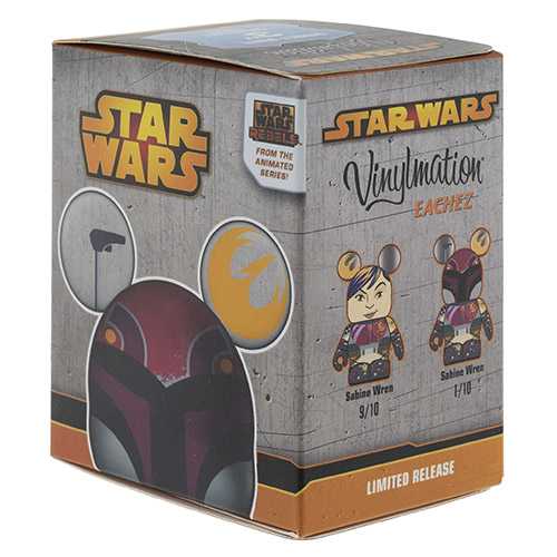 Star Wars: Rebels Sabine Eachez Vinylmation | Anakin And His Angel