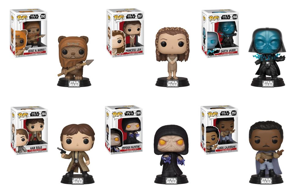 Return of the Jedi Funko Pops Coming Soon | Anakin and His Angel