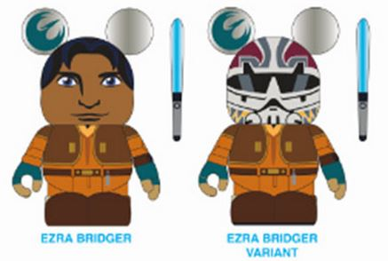 Star Wars: Rebels Ezra Eachez Vinylmation | Anakin And His Angel