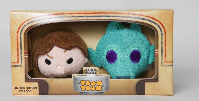 Star Wars Han Solo & Greedo Exclusive Tsum Tsums at SDCC | Anakin and His Angel
