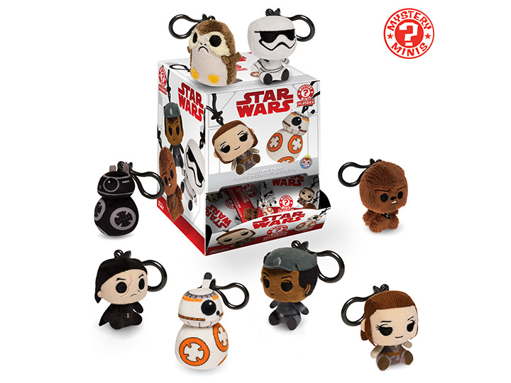 The Last Jedi Mystery Minis Plush Keychain Unboxing | Anakin and His Angel