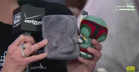 Star Wars Itty Bittys Han Solo in Carbonite & Boba Fett | Anakin And His Angel