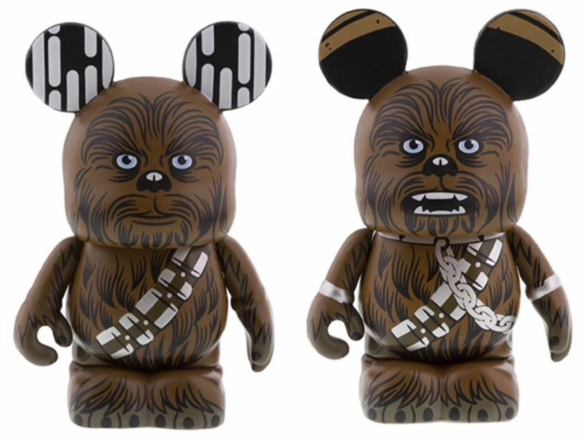 The Inquisitor & Chewbacca Vinylmations | Anakin And His Angel