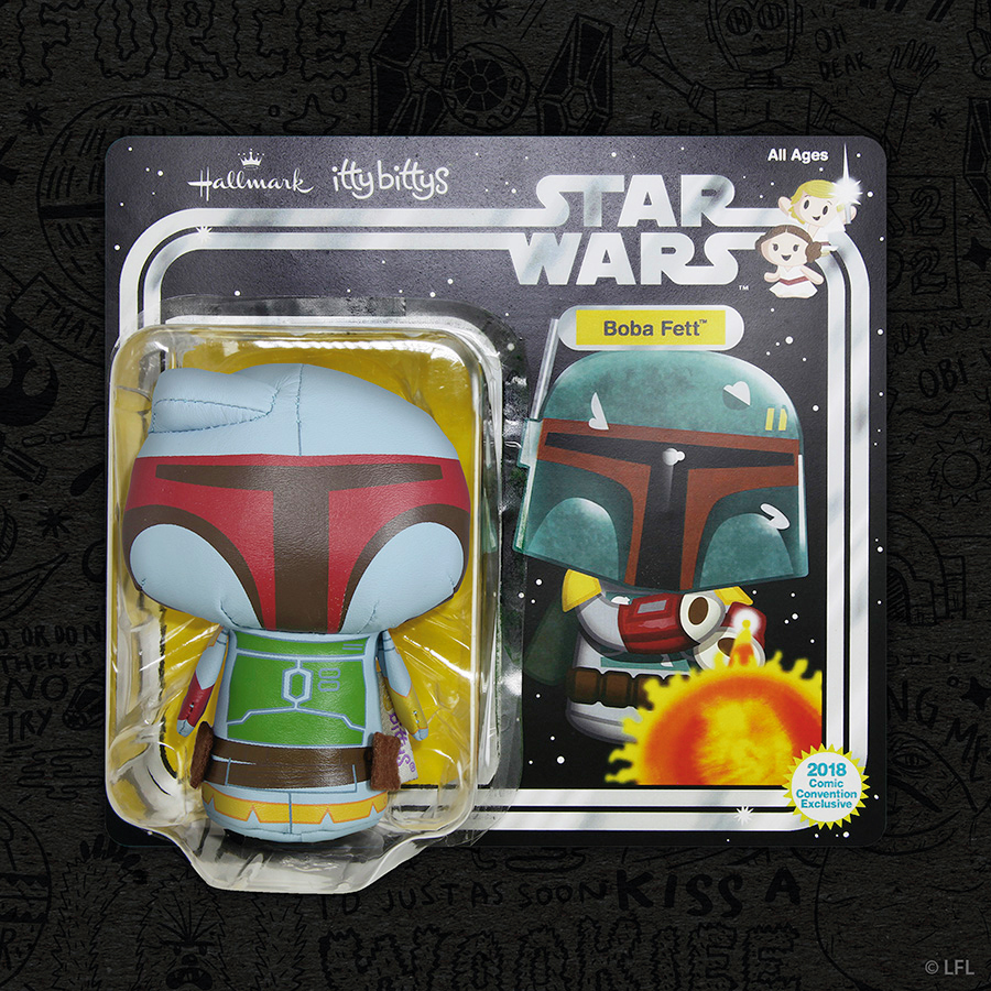 Comic-Con Exclusive: Itty Bitty Boba Fett | Anakin and His Angel