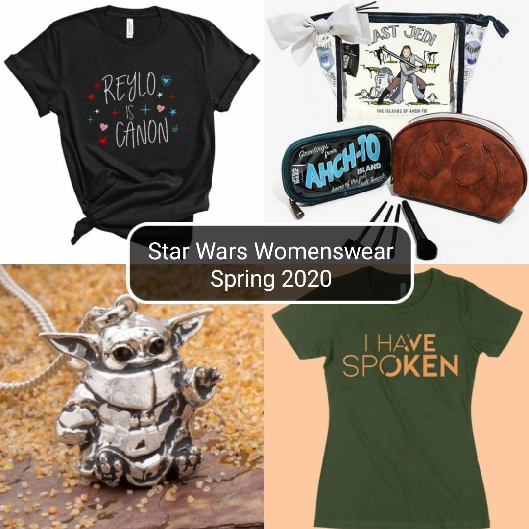 Star Wars Womenswear: Spring 2020 Edition
