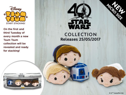 Star Wars 40th Anniversary Tsum Tsum Set | Anakin And His Angel