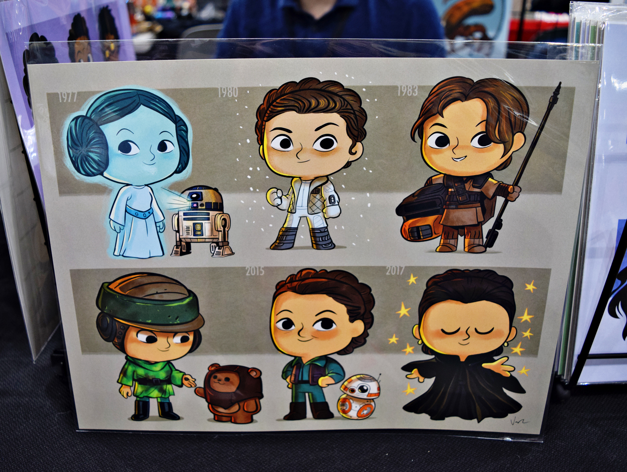 Star Wars Fan Creations at L.A. Comic Con 2018 | Anakin and His Angel