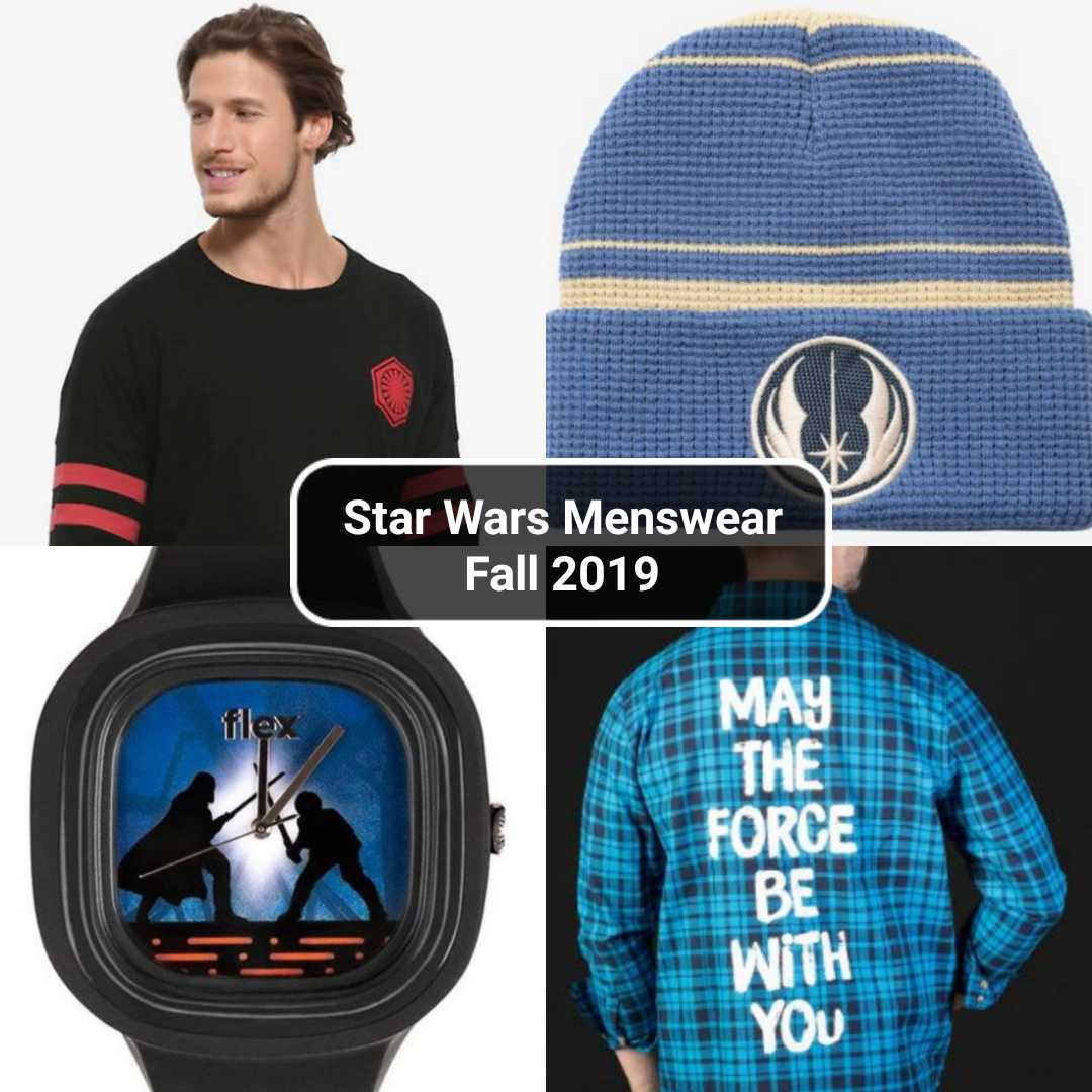 Star Wars Menswear: Fall 2019 Edition | Anakin and His Angel