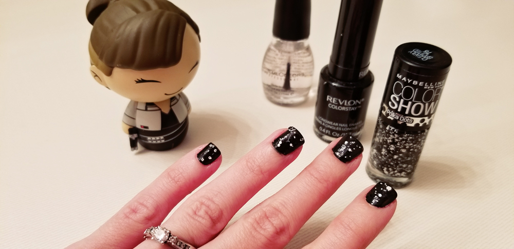 DIY: Qi'ra's Manicure | Anakin and His Angel