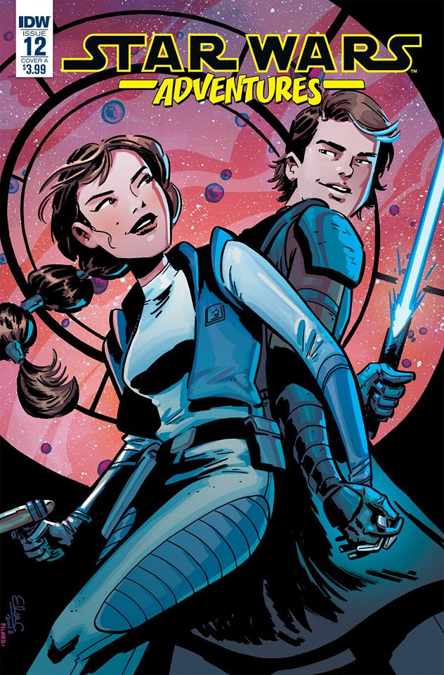 Star Wars Adventures #12: An Anakin & Padme Story | Anakin and His Angel