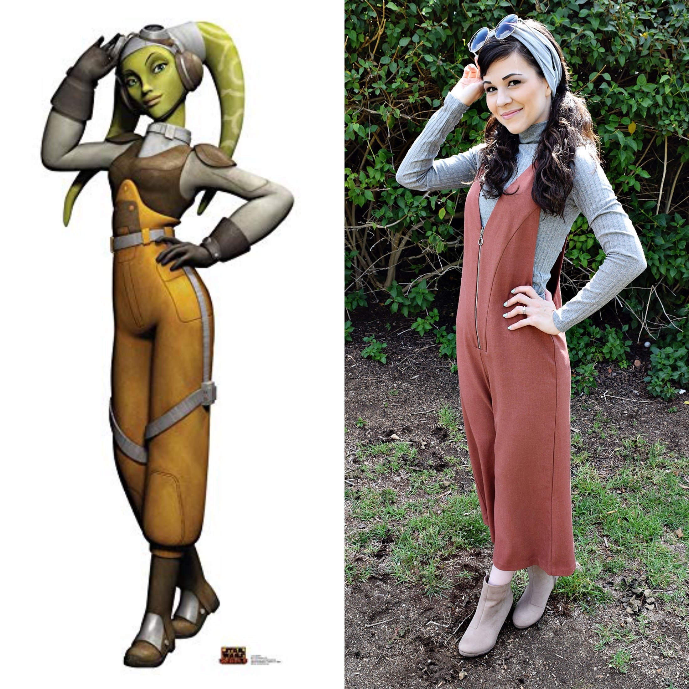 Star Wars OOTD: Hera Syndulla | Anakin and His Angel