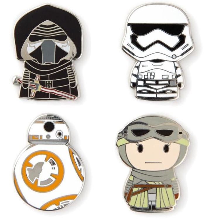HUGE Star Wars Itty Bitty Update: The Last Jedi, Skywalker Twins, Enamel Pins & More!