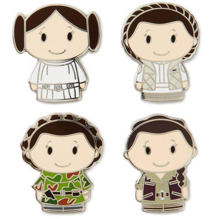 HUGE Star Wars Itty Bitty Update: The Last Jedi, Skywalker Twins, Enamel Pins & More!
