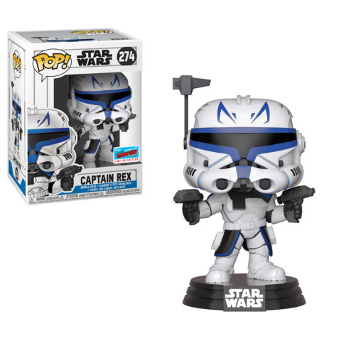 NYCC Shared Exclusive: The Clone Wars - Captain Rex Funko Pop | Anakin and His Angel