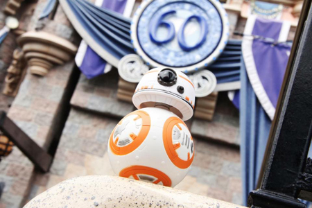 BB-8 at Disneyland Interview | Anakin And His Angel